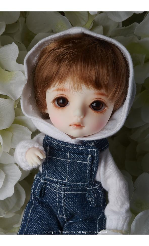 """Dollmore 4-5 Brown /"""" Enfant Short Cut 16/"""" Fashion Doll wig"""