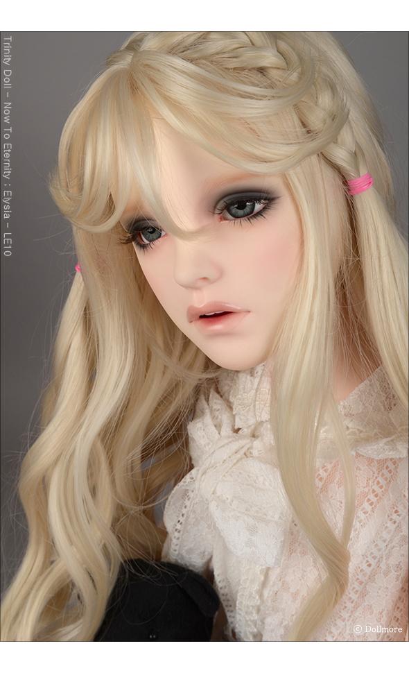 "Dollmore Trinity Wig /""  Erica Long bang Wig 13-14 Blonde"