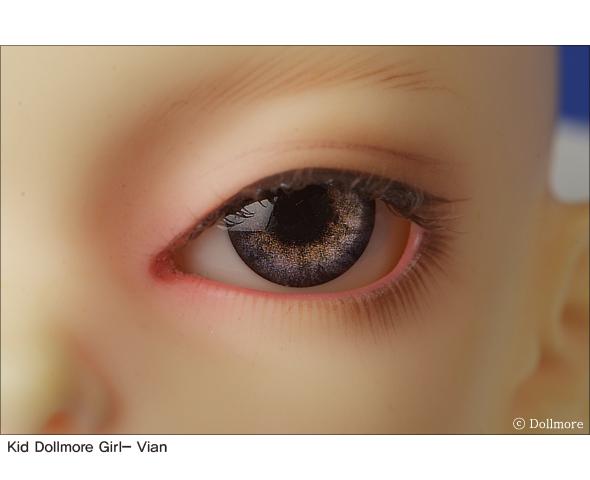 BJD acrylic eyes 12mm Optical Half Round Acrylic Eyes Dollmore CC-05