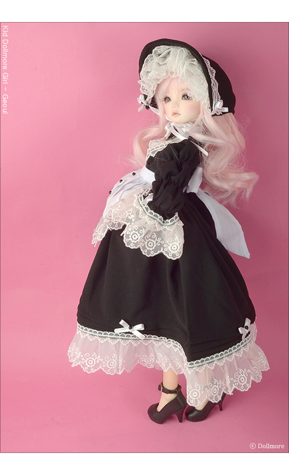 Vanessa Dress Set Black Dollmore 1//4 BJD clothes outfits MSD