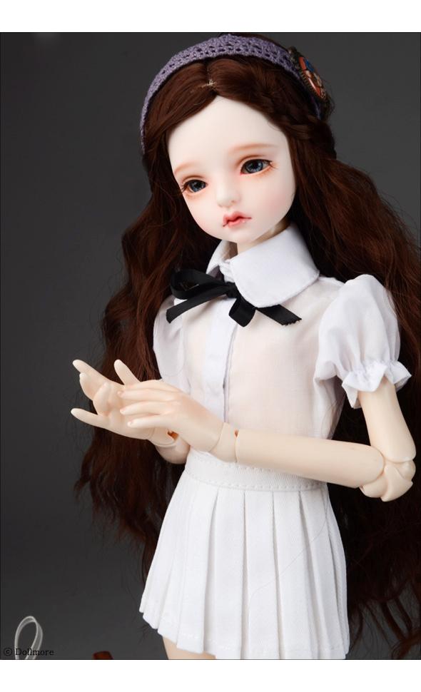 Black Idol Short Skirt DOLLMORE 1//4BJD clothes  dress MSD