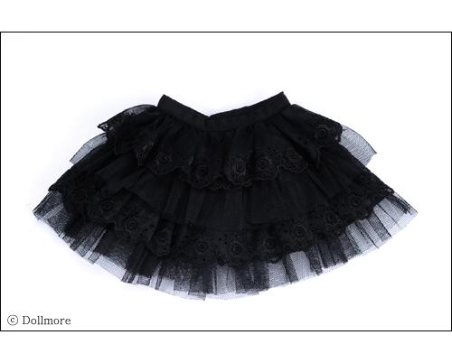 "Dollmore  1//3 BJD 22/"" doll clothes SD SIZE Lapras Cancan Skirt Black"