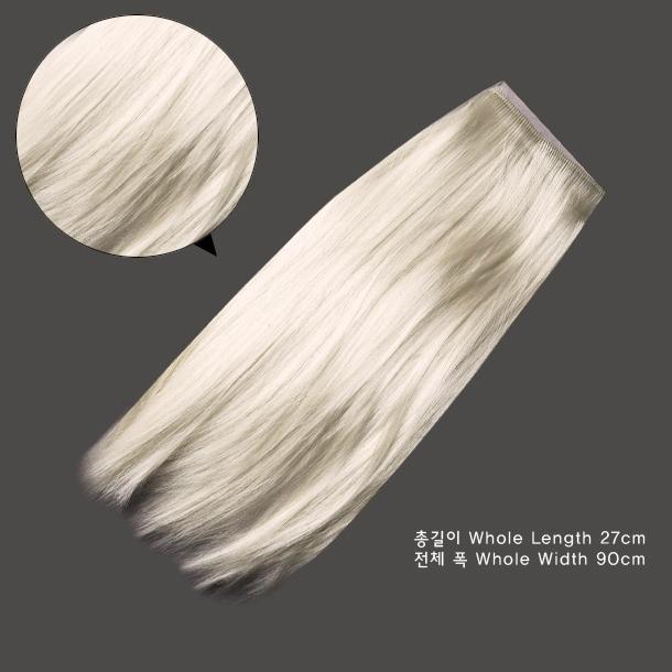 Mohair wave Blonde BJD OOAK Synthetic Mohair String Hair