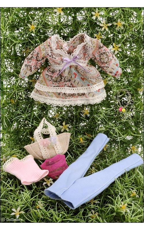 Dollmore fashion doll clothes 12inch Size Bohemian Emitting Set